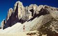 Drei Zinnen von der Forcella Col di Mezo