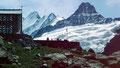 Glecksteinhütte und Schreckhörner