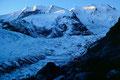 Morteratschgletscher mit Piz Palü und Bellavista vom Weg zur Bovalhütte