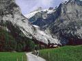 Am Rückweg von der Glecksteinhütte nach Grindelwald