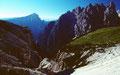 Das ins Hohlensteintal hinab führende Schwabental