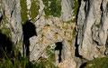 Fenster aus Konglomerat im östl. Steilabfall zwischen Loser und Hochangert