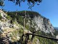 Aufstiegsweg zum Prielschutzhaus