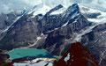 Blick vom Gipfel des Gr. Grieskogels auf Stausee Mooserboden, Gr. Wiesbachhorn, Bratschenkopf, Klocknerin und Bärenkopfkees