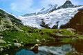 Forellenteich neben der Glecksteinhütte