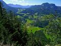 Sandling und Altausseer Gegend vom Tressenstein