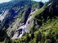 Immer wieder beindruckende Wasserfälle