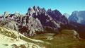 Weidegebiet zwischen Forcella Col di Mezo und Rif. Auronzo