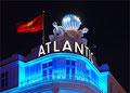 Atlantic Hotel Hamburg - Blue Light - Nachtaufnahme - Dedic Fotografie