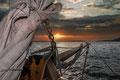 Hamburger Hafen - Segelschiff - Sonnenuntergang - Dedic Fotografie
