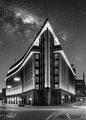 Chilehaus - Hamburg - Milchstrasse - Architekturfotografie - Dedic Fotografie - Schwarz-weiss