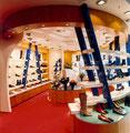 Schuhladen - Interieur - Hamburg - Dedic Fotografie