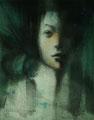 「模写2」 2013/09/07 (F6 墨等/水彩紙)