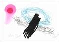 © cesa wendt | himbeeren im winter, 2013 | filzstift, bleistift, kohle, buntstift / felt pen, pencil, charcoal, coloured pencil | bild-nr. 2013_05_34