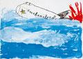 「雲の上の飛行機」 ユン・カンウ 福岡朝鮮初級学校