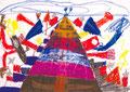 「スーパーピラミッド」 ファン・ユジン 西東京朝鮮第二幼初級学校