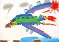 「大きな飛行機」 キム・リアン 尼崎朝鮮初中級学校