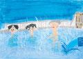 「楽しい温泉」 キム・フィリョン 茨城朝鮮初級学校