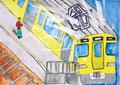 「ぼくと電車」 ハ・チョンドッ 東京朝鮮第三初級学校