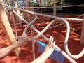Überschneiden von Seilen - Fangstelle