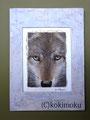 オオカミ acrylic 180x130mm