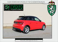 Audi A1 mit 85% Tönung