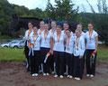 M**-Team mit Bronzemedallien