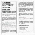 Ledig stilling - Hjertesenteret i Oslo