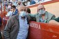 Germán Beardo, Alcalde de El Puerto de Santa María, y Eduardo Ordóñez, Presidente de la A.A.E.T. 'Pedro Romero'