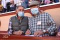 Ruiz Miguel y el ganadero de 'El Rodeo' Manuel Gavira