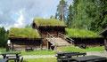Norvège, toiture végétalisée
