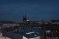 La cathédrale vue de la grande roue par Bernard Fontanier