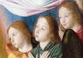 Triptyque de la Vierge de l'Apocalypse : les anges