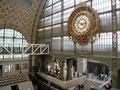 L'horloge de l'ancienne gare d'Orsay