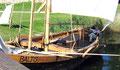 Au bord du lac de Trakai, Lituanie
