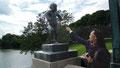 Le bébé coléreux est devenu l'emblème de la ville d'Oslo