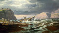"Johan Christian Dahl : ""Shipwreck on the coast of Norway"" de 1832"