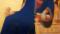 Annonciation par Simone Martini et Lippo Memmi détail
