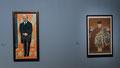 Xan Krohn, 1916 - Portrait de Sergei Chtchoukine et Chine XVIIè s. Portrait de Chain Mei Laodzi