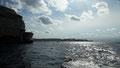 A des reflets d'argent, la mer ... (sous Bonifacio)