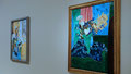 Matisse, 1913 - Le vase bleu (au premier plan)