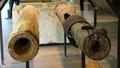 Tuyaux bois pour transport de la saumure à Arc-et-Senans