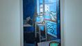 Matisse, 1914 - Intérieur - Bocal de poissons rouges