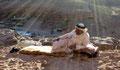Fin du jour à Petra