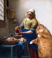 """La laitière"" par  Vermeer de Delft (1632-1675) et Svetlana Petrova"