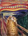 """Le cri"" par Edvard Munch (1863-1944) et Svetlana Petrova"
