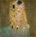 """Le baiser"" par Gustav Klimt (1862-1918) et Svetlana Petrova"
