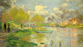 "Claude Monet : ""Spring by the Seine"" de 1875"