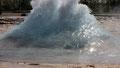 Début de montée du geyser Strokur
