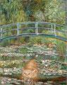 """""""Le pont à Giverny"""" par Claude Monet (1840-1926) et Svetlana Petrova"""